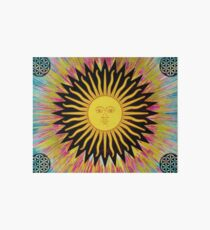 Psychedelic Sun Star Art Board