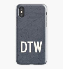 DTW Detroit Airport Code Phone Case and Skin iPhone Case/Skin