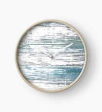 Roman silver abstract watercolor background Clock