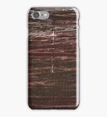 Bistre abstract watercolor background iPhone Case/Skin