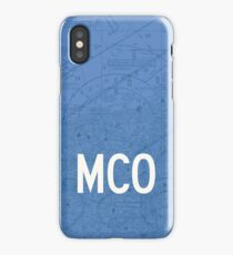 MCO Orlando Airport Code Phone Case and Skin iPhone Case/Skin