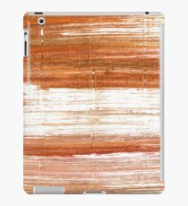 Ruddy brown abstract watercolor background iPad Case/Skin