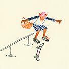 Skater Fox OG by beadylou