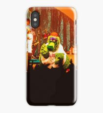 Dr. Dog & The Philly Phanatic - Print iPhone Case