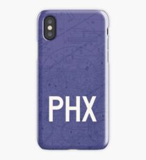 PHX Phoenix Airport Code Phone Case and Skin iPhone Case/Skin