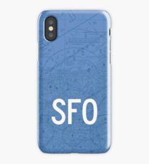 SFO San Francisco Airport Code Phone Case and Skin iPhone Case/Skin