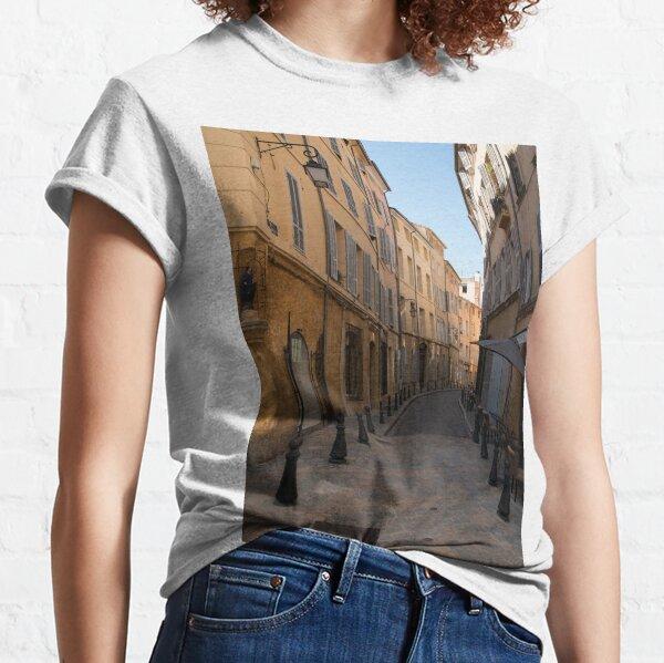 Rue des Epineaux, Aix-en-Provence Classic T-Shirt