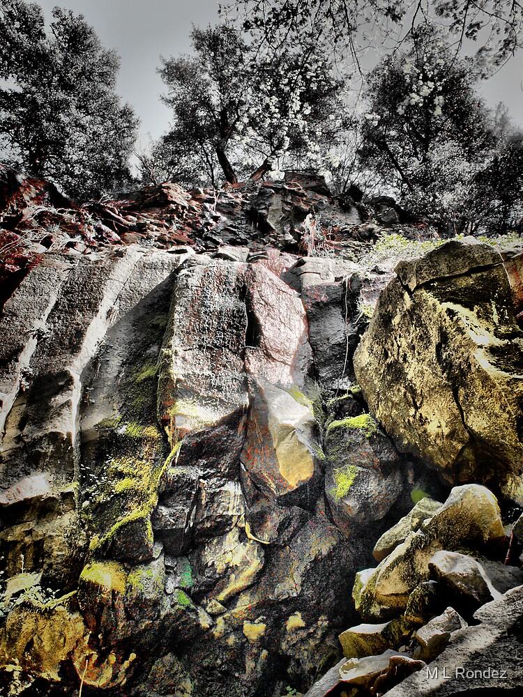 Rock Falls by M L Rondez