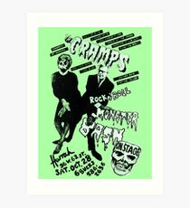 The Cramps - Concert Poster Art Print