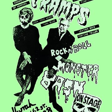 The Cramps - Concert Poster by lucassanchez