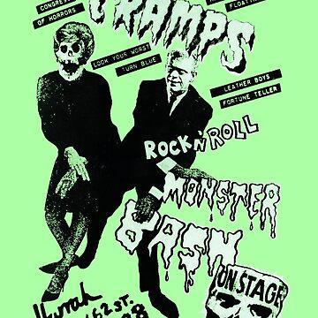 The Cramps - Concert Poster by lucassanchez