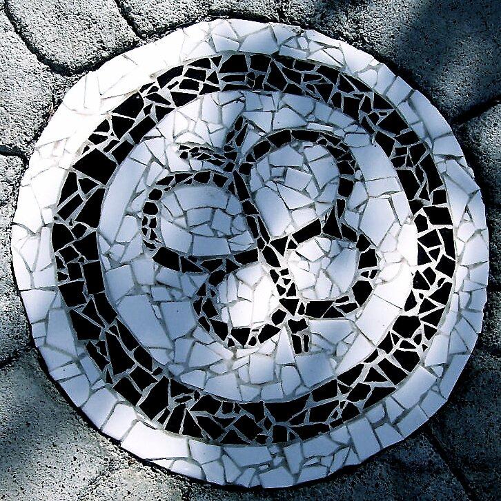 Butterfly Mosaic by Keith Nesbitt