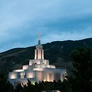 Draper LDS Temple by Ryan Houston