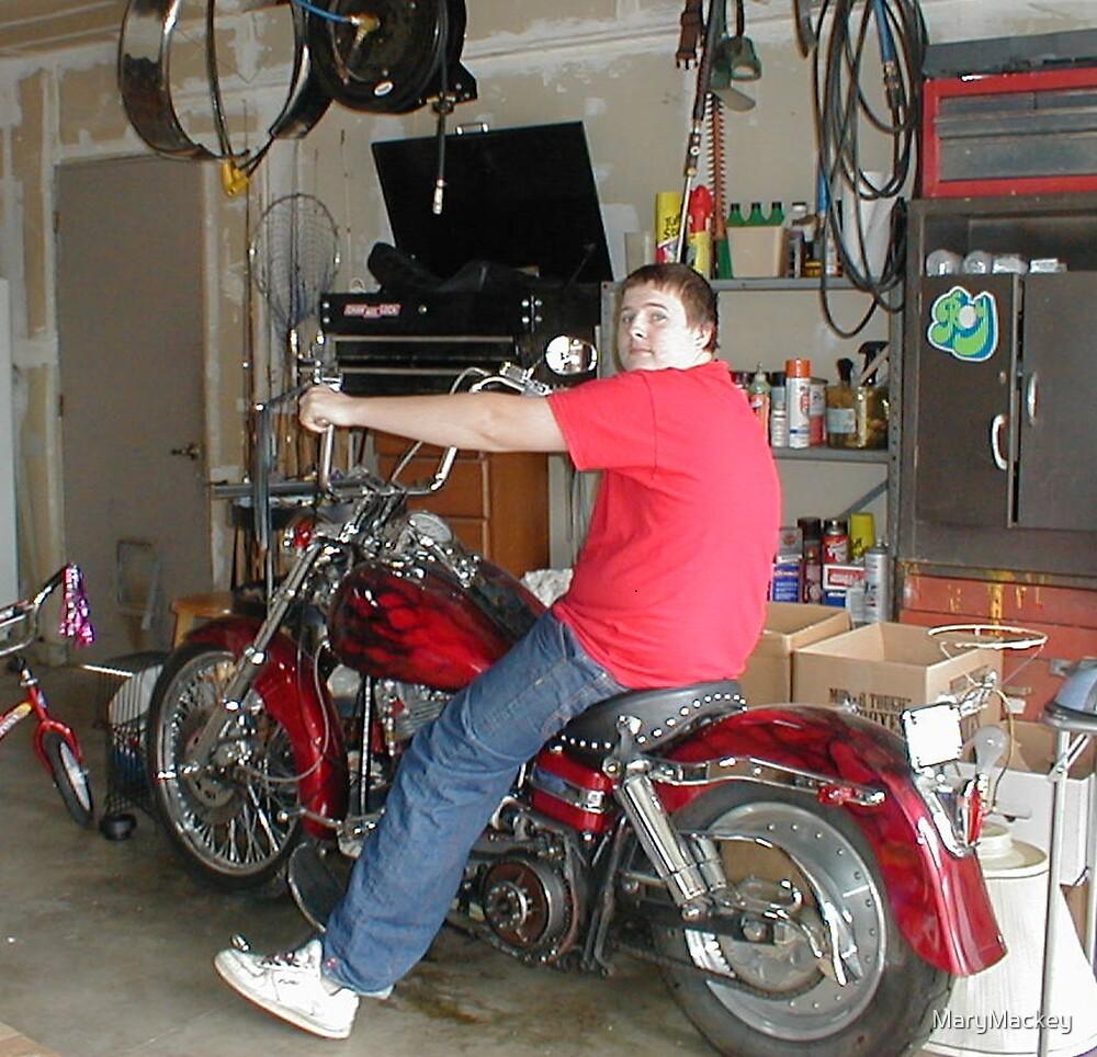 Robert and the Harley by MaryMackey