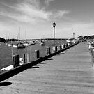 Boardwalk   Northport, New York  by © Sophie W. Smith