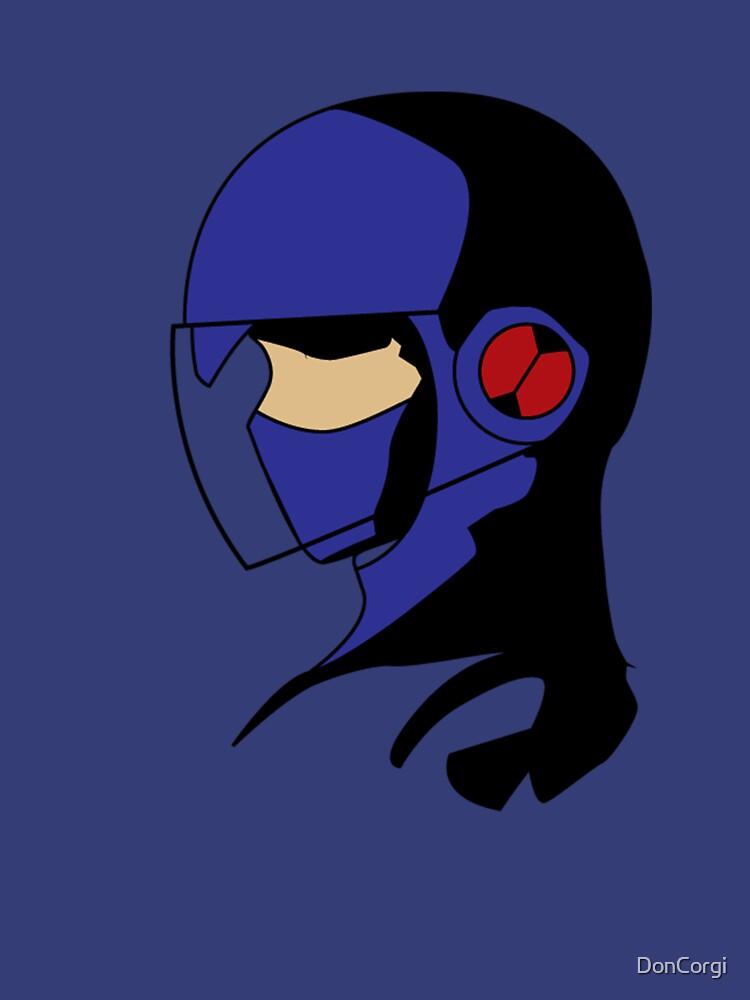 Megaman Policeman by DonCorgi