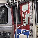 interior of the St. Petersburg metro car by mrivserg