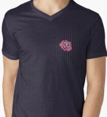 McGregor Mayweather LA Presser - Pink Rose Fuck You Pinstripe T-Shirt
