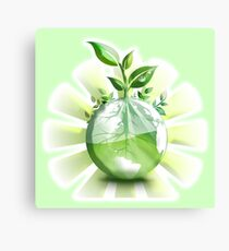 Ecology, Earth science, Environment, Eco, Ecosystems, Green Canvas Print