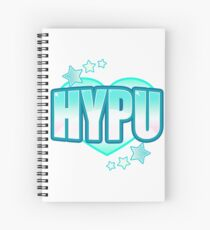HYPU Bubble Emote Spiral Notebook