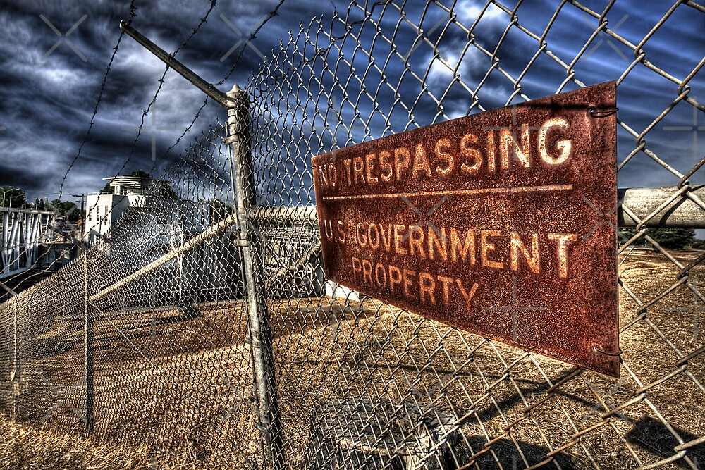 No Trespassing by Ben Pacificar
