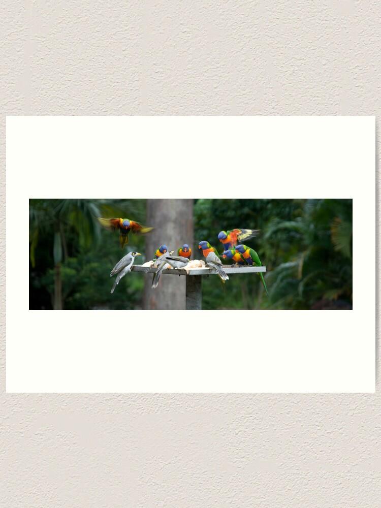 Alternate view of The Birds Art Print