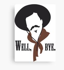 Tombstone: Curly Bill Canvas Print