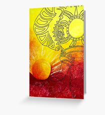 Lion King Inspired Elephant Greeting Card