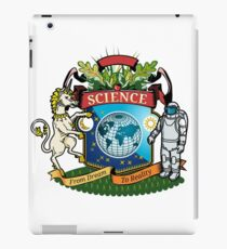 science coat of arms iPad Case/Skin