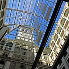 Looking Up Inside The Old Post Office -- Now A Trump Hotel by Cora Wandel