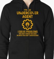 UNDERCOVER AGENT - NICE DESIGN 2017 Zipped Hoodie