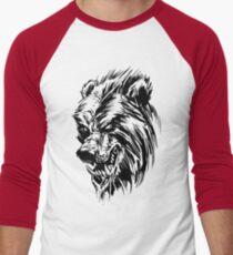 Black Werebear Men's Baseball ¾ T-Shirt