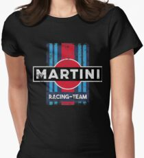 Martini Racing Team Retro Women's Fitted T-Shirt