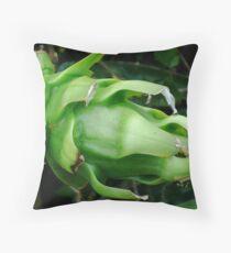 Green Pitaya Throw Pillow