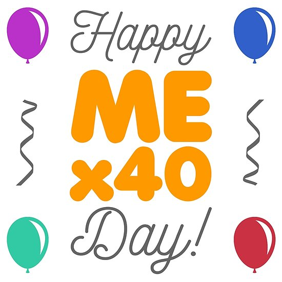 happy 40th birthday posters by thepixelgarden redbubble