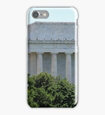 A Green Lincoln Memorial iPhone Case/Skin