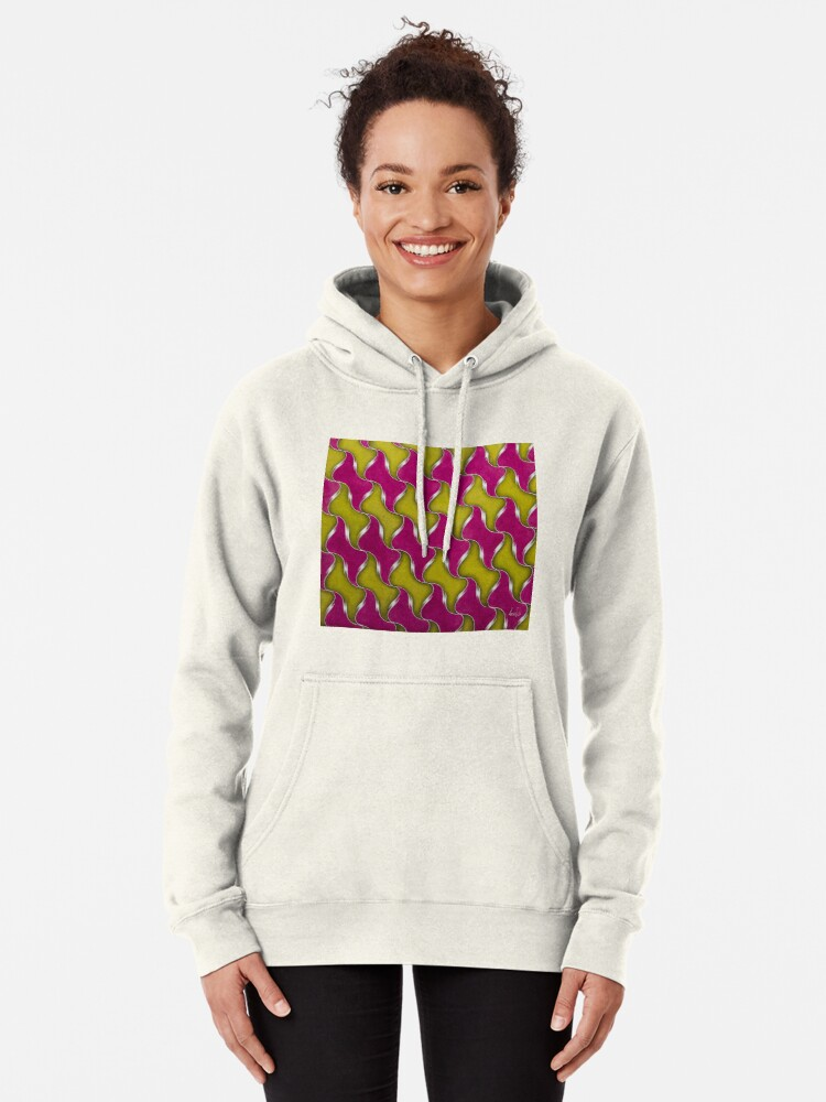Alternate view of Step & Repeat, No. 1 Pullover Hoodie