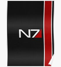 N7 Iconic Design Poster