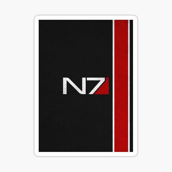 N7 Iconic Design Sticker