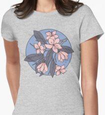 Sakura Branch Pattern - Rose Quartz + Serenity T-Shirt