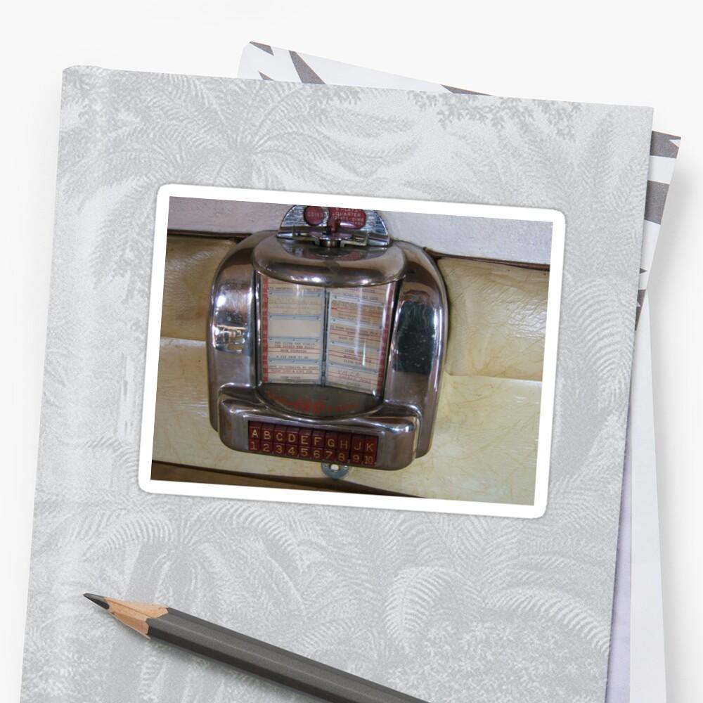 Vintage Booth Juke Box by lisavonbiela