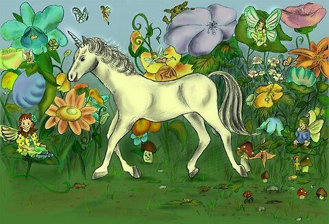 unicorn by Irene Brischnik