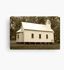 Missionary Baptist Church Canvas Print