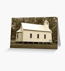 Missionary Baptist Church Greeting Card