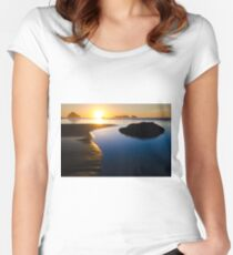 Earth The Blue Planet 4 Women's Fitted Scoop T-Shirt