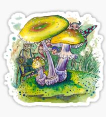 Pilzwald - Fairy tale Sticker