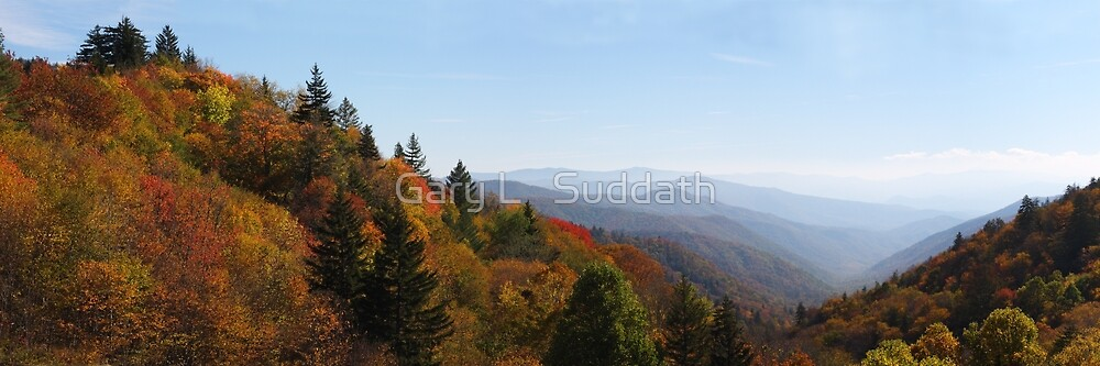 Oconaluftee Valley II by Gary L   Suddath
