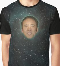 Cage - Our Lord of the COSMOS. Graphic T-Shirt