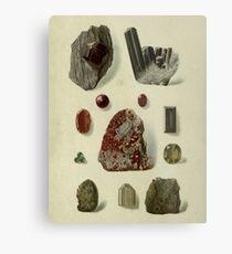 Granat Mineralien Metallbild