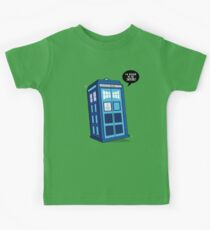 Bigger on the Inside - Doctor Who Shirt Kids Clothes
